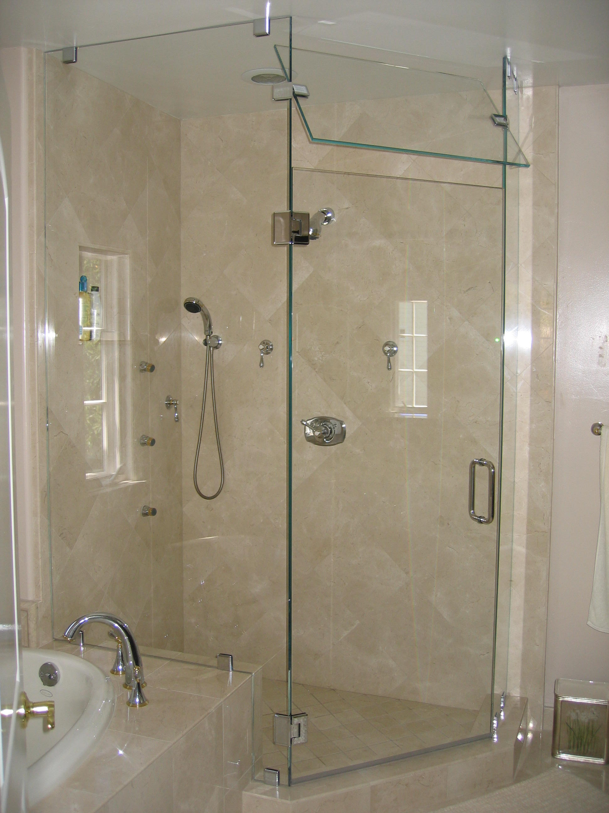Installing custom shower doors virginia beach va Bathroom glass doors design