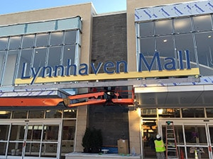 Lynnhaven Mall Sign