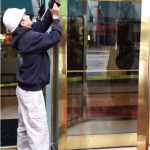 revolving door glass repair norfolk va