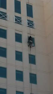 Window cleaning hampton roads va highrise